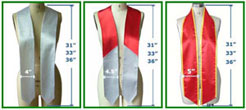 Graduation Sashes
